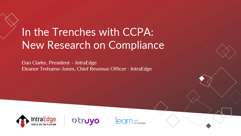 In the Trenches with CCPA: New Research on Compliance