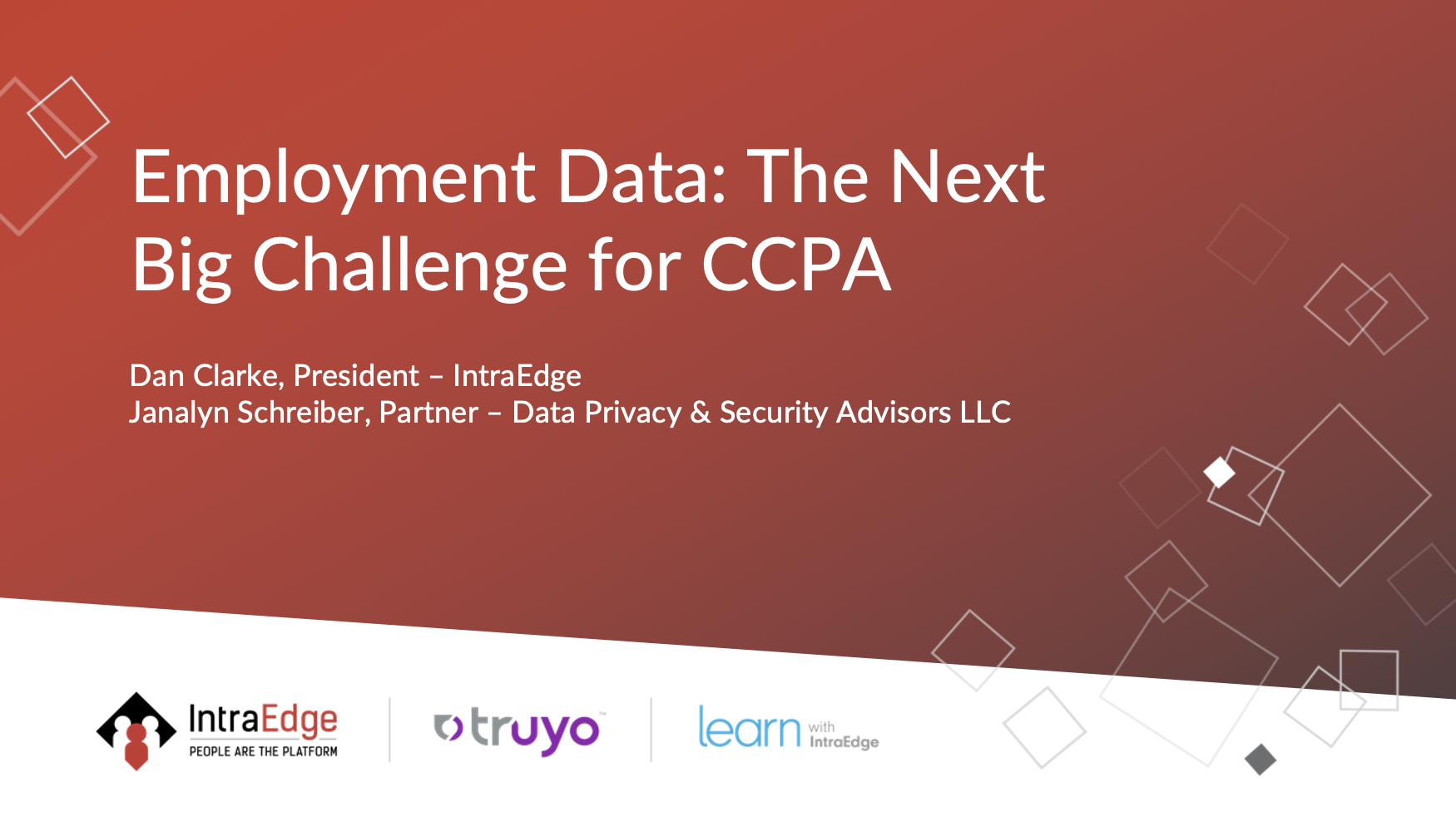 Employment Data: The Next Big Challenge for CCPA