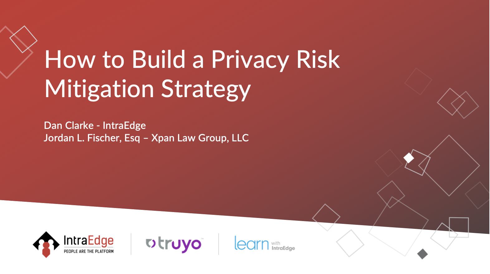 How to Build a Privacy Risk Mitigation Strategy