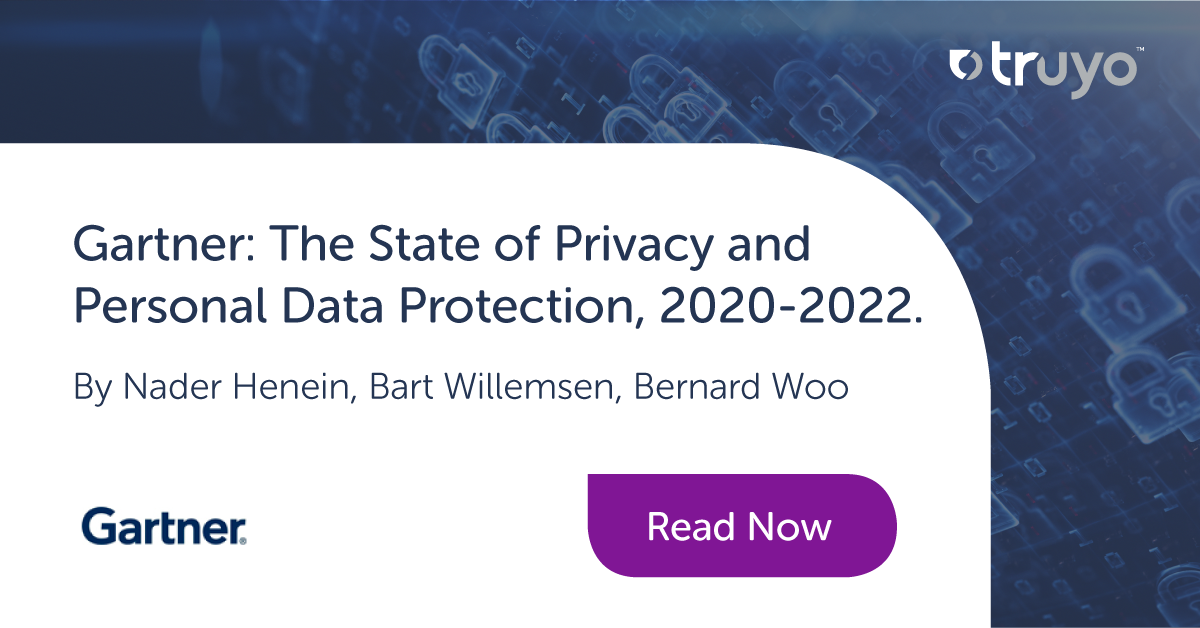 Gartner - State of Privacy and Data Protection 2020-2022