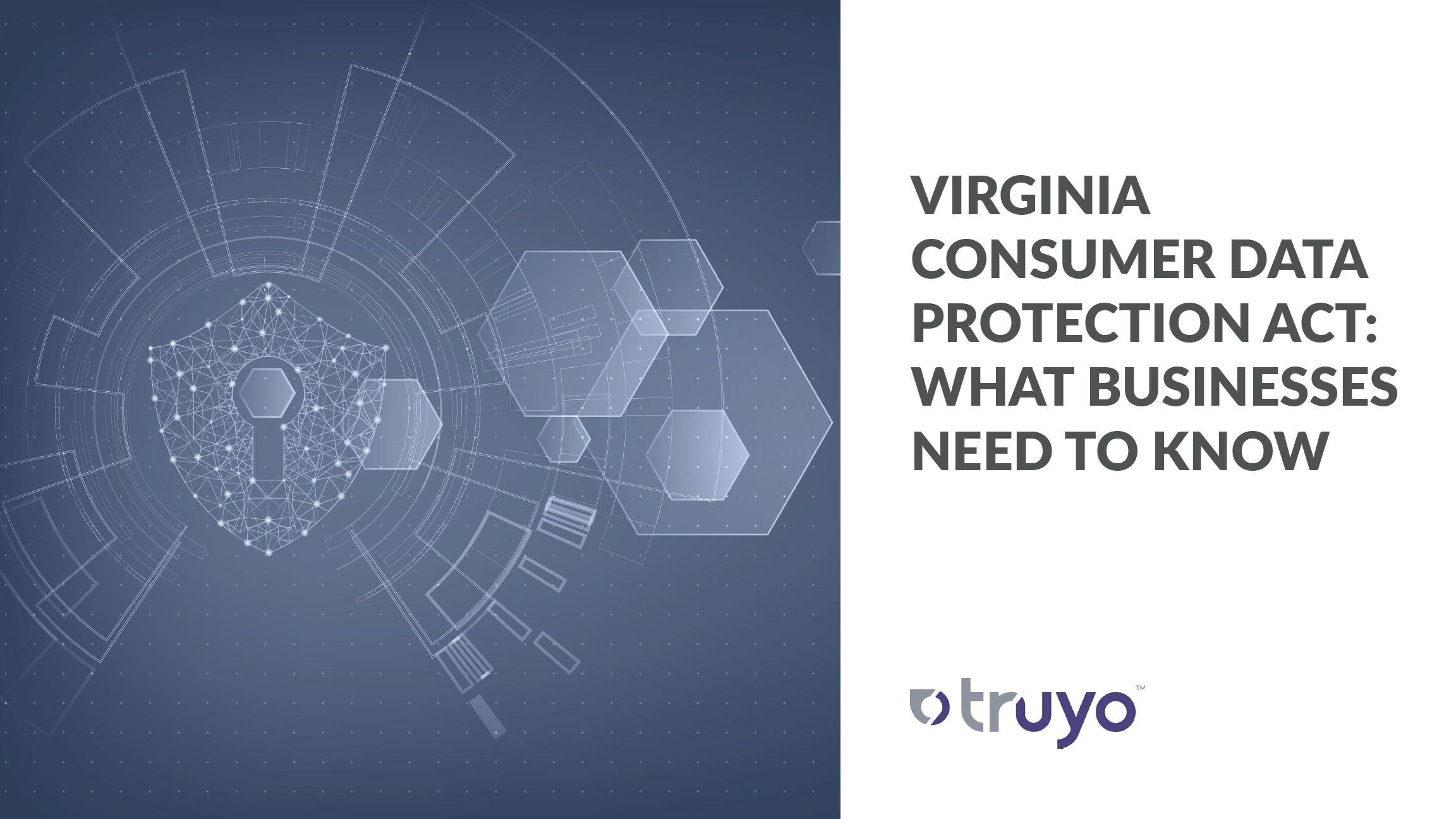 Virginia Consumer Data Protection Act - VCDPA